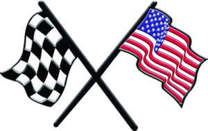 Race Flag and American